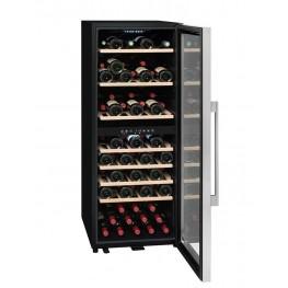 Cave à vin ECS80.2Z, double zone 79 bouteilles La Sommelière (pleine ouverte)