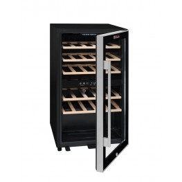 ECS30.2Z Double-zone wine cellar 29 bottles