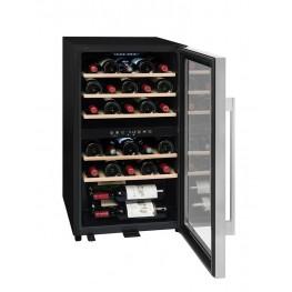 Cave à vin ECS30.2Z, double zone 29 bouteilles La Sommelière (pleine ouverte)