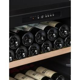 Cave de vieillissement CTV82B 77 bouteilles La Sommelière (zoom panneau de contrôle)