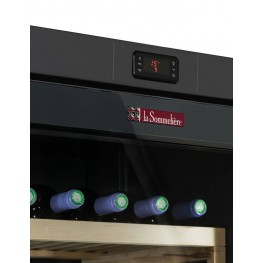 VIP280V Multi-temperature la sommeliere, wine cellar 273 bottles - control panel