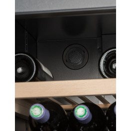 VIP280V Multi-temperature la sommeliere, wine cellar 273 bottles - active characol folter