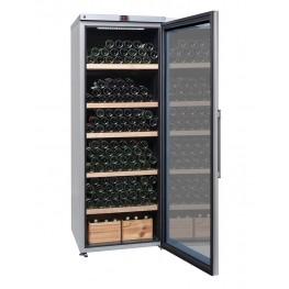 Cave à vin VIP315V multi-zones 325 bouteilles porte ouverte pleine
