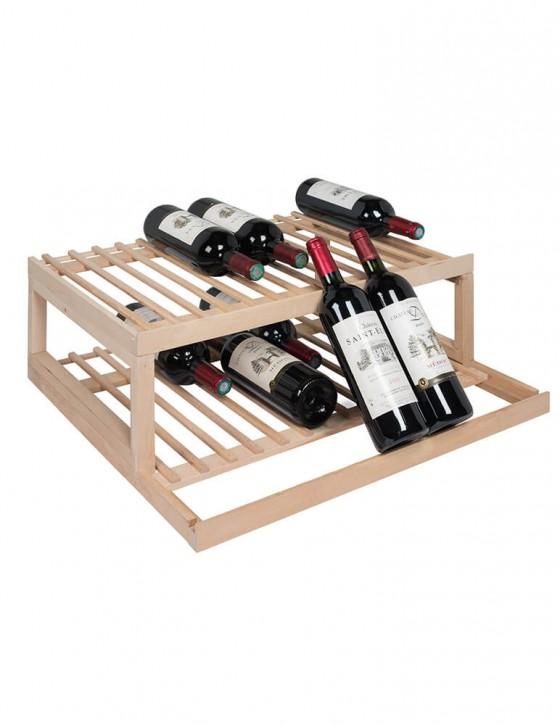 CLAVIP08 Wooden display shelf, for VIP280 VIP330 La Sommeliere