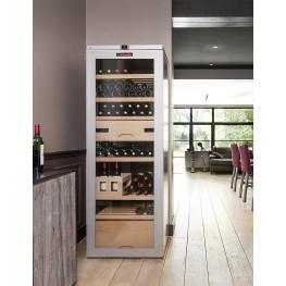 VIP315V Multi-zone wine cellar 325 bottles in room