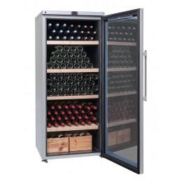 Cave à vin VIP265V multi-zones 265 bouteilles la sommeliere ouverte pleine