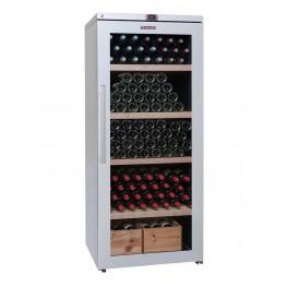 Cave à vin VIP265V multi-zones 265 bouteilles la sommeliere fermée pleine