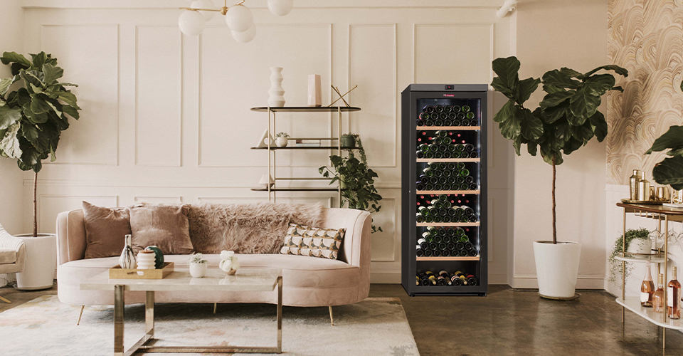 An enhanced-security wine cellar VIP315V la sommeliere