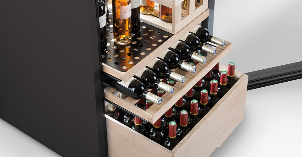 Customise the layout of your cellar