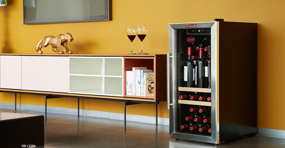 service wine cellar with preservation of wine included ls38a