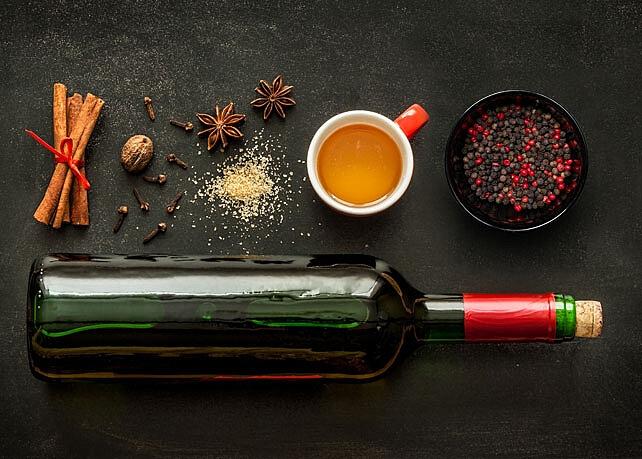 Arômes du vin : les épices, le poivre et la noix de muscade