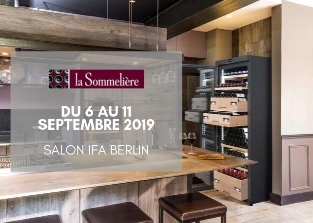 La Sommelière présente au Salon de l'IFA à Berlin !