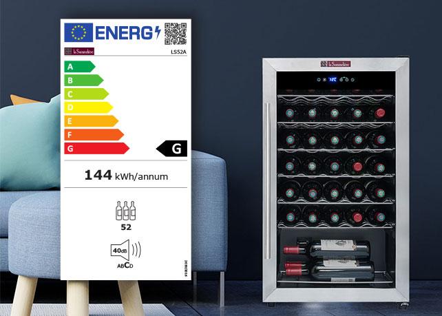Une nouvelle étiquette énergie pour les caves à vin !